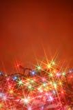 blinka för bakgrundslampor Arkivfoton