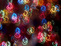 blinkafärgbränder royaltyfri fotografi
