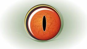 Blinkagrodaöga stock illustrationer