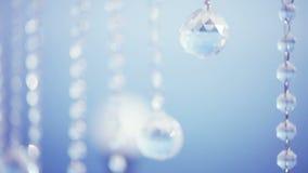 Blinkande kristall stock video