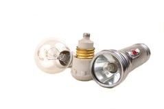 Blinken - helle Lampe Lizenzfreies Stockbild
