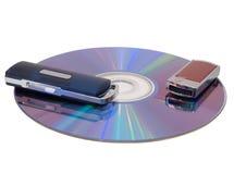 Blinken Laufwerk und CD Lizenzfreie Stockfotografie