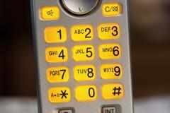 Blinkende Telefontastatur Stockfotografie