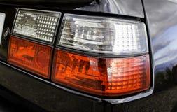Blinkendes Signalisieren eines Autos Stockbilder