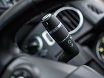 Blinkerschalter im Auto Lizenzfreie Stockfotos