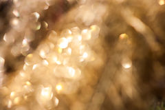 Blinking bokeh Stock Images