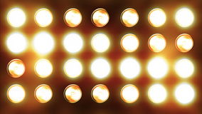 Blinking Light Curtain Flowing Down Royalty Free Stock Image