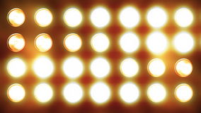 Blinking Light Curtain Flowing Down Royalty Free Stock Photo