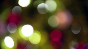 Blinking lights stock video