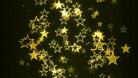 Blinking Stars Flowing random royalty free illustration