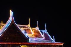 Blinklichter auf dem Dachtempel Lizenzfreie Stockbilder
