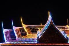 Blinklichter auf dem Dachtempel Lizenzfreies Stockfoto