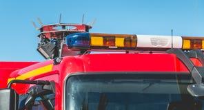 Blinklichter eines Befreiungsfahrzeugs Lizenzfreies Stockbild