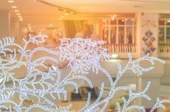 Blinklichter, Weihnachten und neues Jahr Stockfotografie