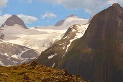 Blinnenhorn и Ritzhorner стоковое фото