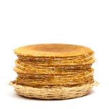 Blintzes oder russische Pfannkuchen Stockfoto