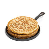 Blintzes or Russian Pancakes Royalty Free Stock Photography