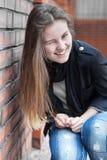 Blinzeln des Mädchens Lizenzfreie Stockfotografie