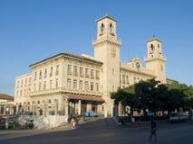 bliskim Havana stacji pociągu Zdjęcia Stock
