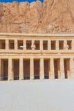 blisko świątynnego vert Egypt hatshepsut Luxor Zdjęcia Royalty Free