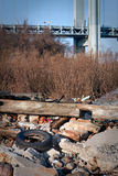 blisko bridżowi gruzy Zdjęcie Royalty Free