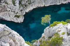 blisko calanques cassis obraz royalty free