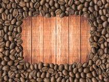 blisko fasolę kawa wystrzelona zdjęcia stock