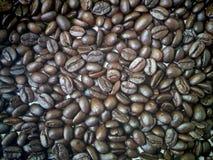 blisko fasolę kawa wystrzelona Obraz Stock