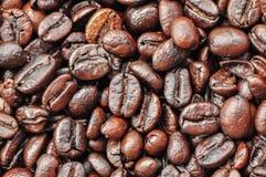 blisko fasolę kawa wystrzelona Zdjęcie Stock