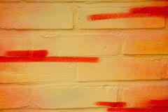 blisko graffiti, odizolowanego Obrazy Stock