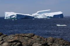 blisko gruntować góra lodowa shore Fotografia Royalty Free