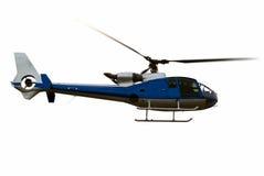 blisko helikopter się w powietrzu Zdjęcie Stock