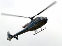 blisko helikopter się w powietrzu Obrazy Royalty Free