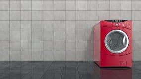 blisko maszyna wystrzelona z mycia Fotografia Stock