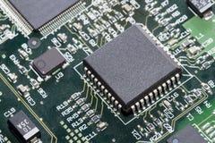 blisko mikroprocesor, Fotografia Stock