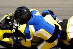 blisko motocyklistów, zdjęcie royalty free
