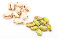 blisko naga orzechy pistachio kilka kadłuba, Zdjęcia Royalty Free