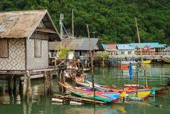 blisko Phuket morza wioski Fotografia Royalty Free