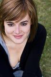 blisko portret kobiety Fotografia Stock