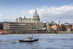 blisko prestiż gromadzki Greenwich London miastowy rzeczny Thames Obrazy Royalty Free