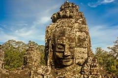 blisko riep bayon Cambodia siem świątyni Zdjęcia Stock