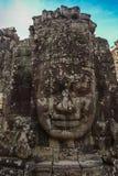 blisko riep bayon Cambodia siem świątyni Obrazy Royalty Free