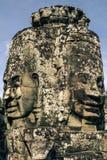 blisko riep bayon Cambodia siem świątyni Fotografia Stock