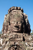 blisko riep bayon Cambodia siem świątyni Obraz Royalty Free