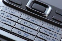 blisko ruchomy nowoczesnego telefon, zdjęcie stock