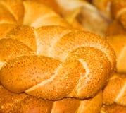 blisko się biały chleb Obrazy Royalty Free