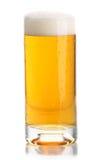 blisko spienia szklankę piwa, Obrazy Royalty Free
