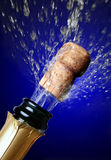 blisko szampana otworzymy korka Obraz Royalty Free