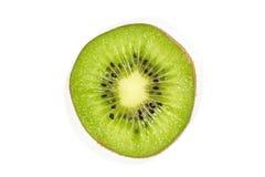 blisko tła owoce kiwi wolny biały się nad Zdjęcia Royalty Free