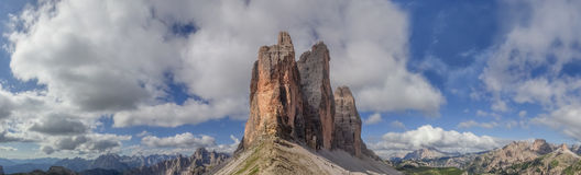 Blisko Trzy szczytów Fotografia Stock